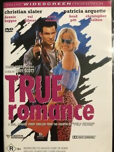 True Romance DVD (PAL, 1999) Free Post