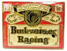 Budweiser Racing beer can logo tack pin Hydroplane Racing boat