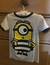 Boys H&m Minions T-Shirt Age 4 To 6 Years