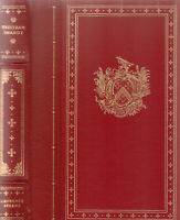 TRISTRAM SHANDY BY LAURENCE STERNE, THE FRANKLIN LIBRARY 1981, LEATHER