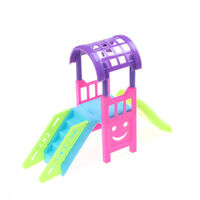 Toy Accessories Doll Amusement Park for 10CM Doll Slide Amusement paNSIJ
