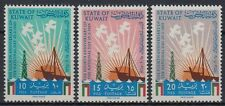 Kuwait 1965 ** Mi.260/62 Nationalfeiertag National day landschaft landscape