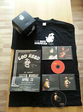 LOU REED - American Poet (RARE, Limited Edition 2 CD  T-Shirt  Poster Box Set)