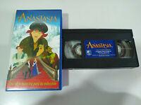 ANASTASIA - VHS CINTA TAPE LOS CLASICOS DE WALT DISNEY