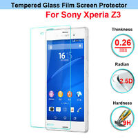 Anti-Scratch Tempered Glass Screen Protector LCD Film for Sony Xperia Z3 D6603