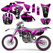 Yamaha Graphic Kit YZ250F YZ450F MX YZ 250 450 F Dirt Bike Decal 03-05 REAP PINK