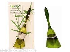 Tovolo Tea Infuser Spoon with Stand *NEW* Loose Leaf Strainer Filter Diffuser