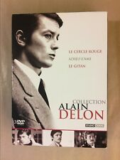 RARE COFFRET 3 DVD / COLLECTION ALAIN DELON / EXCELLENT ETAT