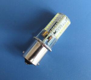 10x BA15S 1141 1156 S8 SC LED bulb 72-3014SMD AC DC12V Silicone Crystal, White