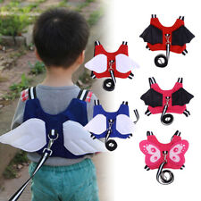 Baby Toddler Kids Wings Strap Safety Harness Strap Bag Backpack With Reins