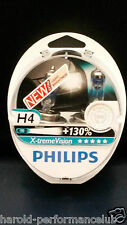 Philips H4 Extreme  X-Treme Vision +130% H4 OEM Made in Poland 12342XV+S2