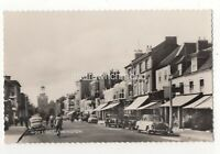Lymington High Street Hampshire Vintage RP Postcard 129c