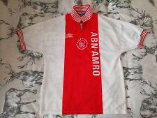 AJAX 1996-1997 Home Football Shirt Jersey Large Adult Dutch Umbro