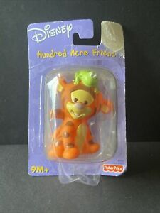 Fisher Price Disney Hundred Acre Friend Tigger With Frog on Head 2001 Mattel