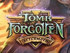 World of Warcraft WoW Tcg Tomb of the Forgotten Rares/Epics Choose Your Cards!