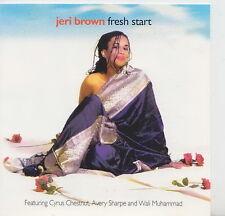 JERI BROWN  CD CANADA FRESH START