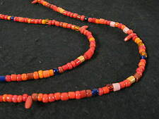 Strang kleine Glasperlen 4mm Afrikahandel Random Mix Trade beads Afrozip
