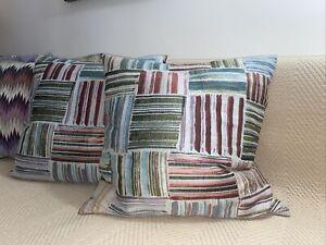 Missoni Home Set Of 2 Pillows Size 22x22