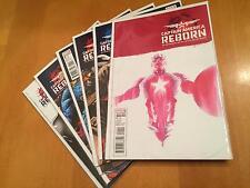 Captain America Reborn full run 1-6 (1,2,3,4,5,6) VF/NM