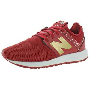 New Balance Women's WRL247 Mesh REVlite Athletic Sneakers Red Size 7