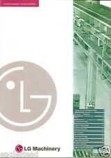 Equipment Brochure - Lg Machinery - Company Capabilities Overview c1999 (E2238)
