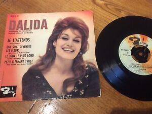 """Dalida - Je L'Attends 4-track 7"""" ep (Barclay)"""