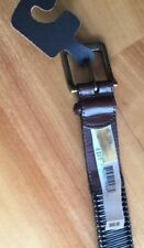 Tommy Bahama Men's Brown Leather Belt 36. New