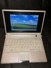 "ASUS EEE PC 701SD 7"" INTEL CELERON 1GB RAM NETBOOK – WHITE WORKING"