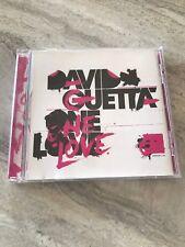 David Guetta CD One Love Good Condition