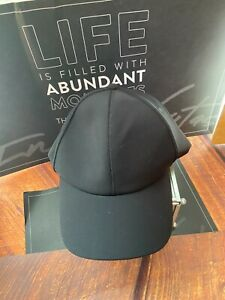 Lululemon Baller Baseball Hat Running Black Flex Fit  Cap OS unisex