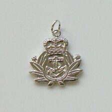 Royal Navy English sterling silver charm ( code 446)