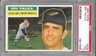 1956 Topps #206 ERV PALICA Orioles PSA 7 NM