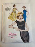 Butterick 6582 Retro 60s vintage style dress & belt sewing pattern size 12-14-16