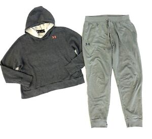 Under Armour Joggers Womens Size XL Under Armour Hoodie Lot Of 2 Gray Joggers