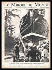 1931 Sartrouville Le Nouveau Yacht d'Alain Gerbault Blanche Fille du Soleil