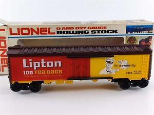 Lionel 6-9885 Lipton Tea Billboard Reefer Car O O27 Gauge 9885 NIB
