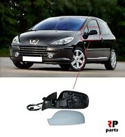 FOR PEUGEOT 307 2005 - 2007 PRIMED WING MIRROR ELECTRIC HEATED LEFT N/S LHD