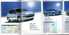 Peugeot Special Offers Mid 2004 UK Market Foldout Sales Brochure 206 307 407 807