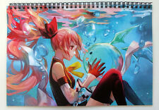 Wall Calendar 2018 (12 sheets A4) Anime Kawaii Girl Manga A-703