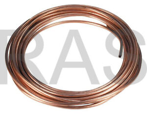 Ф4mm OD COPPER LUBRICATION PLUMBING PIPE TUBING TUBE COIL Showa - Sold per foot