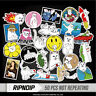 50pcs Middle Finger Ripndip Sticker for Snowboard Skateboard Luggage Car Laptop