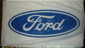 "Ford Flag 3' X 5' Premium Automobile Dealership Banner ""USA Seller"""