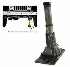Authentic Jeep Willys Telescopic screw Jack, WC, M38, M38A1 M37 RARE