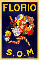 Vintage LIMONADE BRAULT Print on Paper or Canvas Giclee Poster 13X18 to 40X57