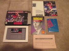 Ninja Warriors (Super Nintendo SNES) Complete CIB - RARE