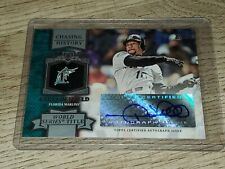 2013 Topps Chasing History Autograph Gary Sheffield auto Marlins