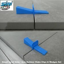 More details for 2cm outdoor slabs 2mm tile spacers smart level system wedges and clips
