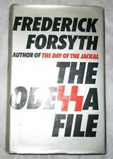 COLLECTABLE  IST Ed: FREDERICK FORSYTH THE ODESSA FILE  ( HB HUTCHINSON 1972)