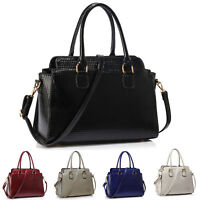 Luxury Womens Tote Shoulder Bag Ladies Patterned Designer Handbags Fashion New