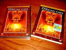Disneynature: African Cats, Disney) 2-Disc DVD + Blu-ray,2011) NEW + Fast Ship